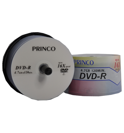 Princo DVD-R 16x speed
